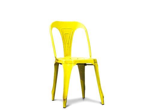 Vintage-Stuhl Multipl's Antikes Gelb ohne jede Grenze