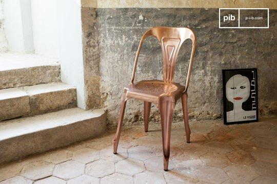 Vintage-Stuhl Multipl's Kupferfarben