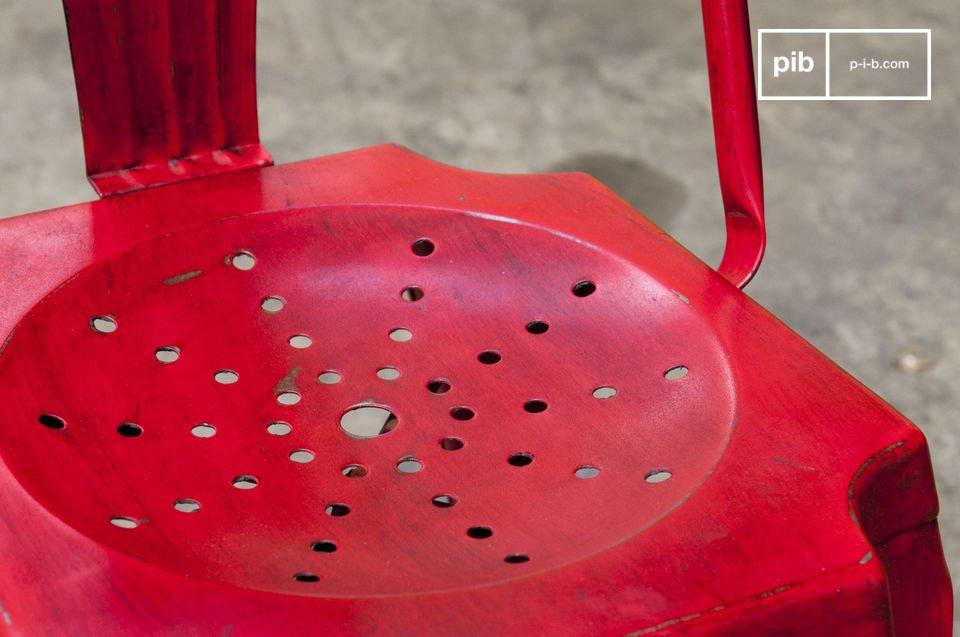 Rot patinierte Ausführung