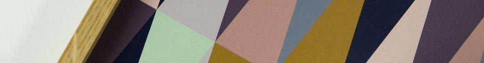 Materialbeschreibung Vintage-Style Tablett Remix