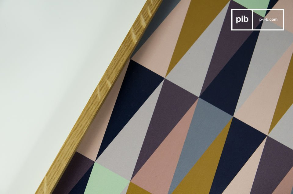 Buntes Grafik-Muster für einen Vintage-Touch