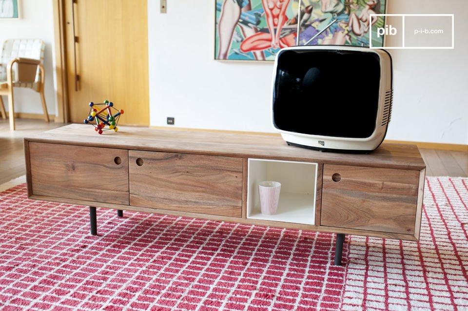 Dieses Möbelstück lässt sich ganz einfach in jede Art von Einrichtung eingliedern, egal ob diese im mordernen oder im vintage Stil gehalten ist