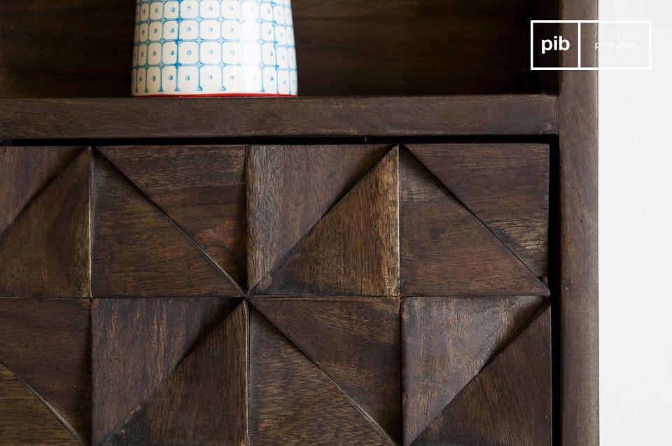 Die Wandaufbewahrung Balkis ist ein ästhetisches und praktisches Möbelstück
