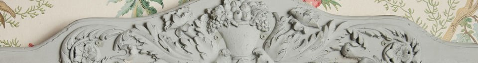 Materialbeschreibung Wandgarderobe aus Keramik