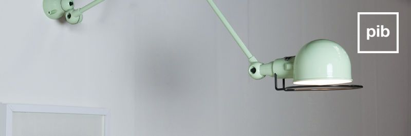 Wandlampe retro skandinavisch