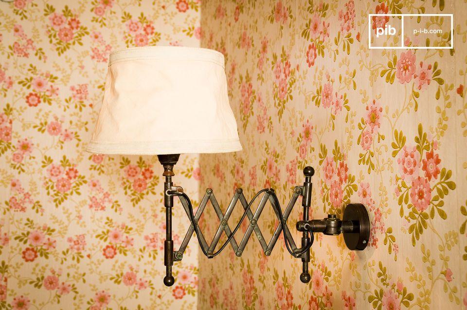 Wandleuchte oléron beleuchtung im retro design pib