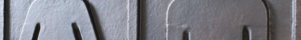 Materialbeschreibung WC-Zeichen aus Bronze