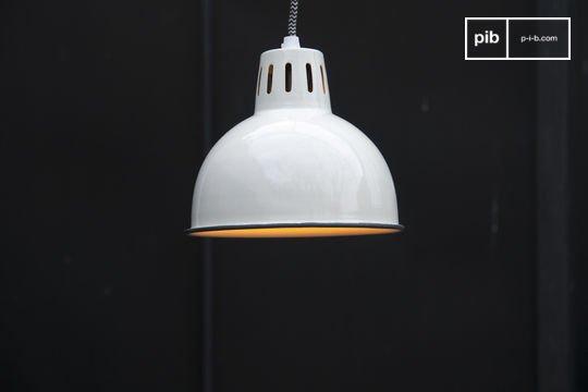 Weiße Lampe Snöl