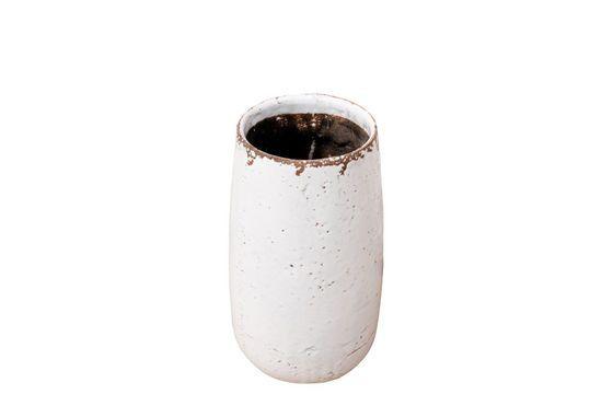 Weiße Vase Elisa ohne jede Grenze