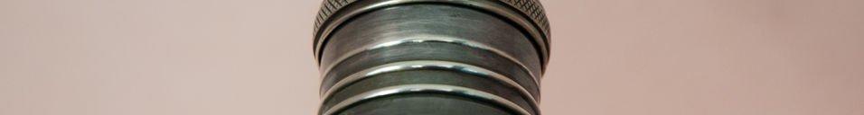 Materialbeschreibung Werkzeugmaschinen-Wandleuchte