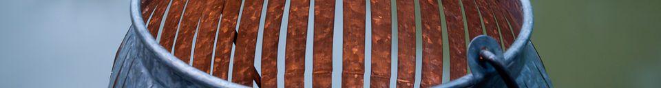 Materialbeschreibung Windlicht Porquerolles