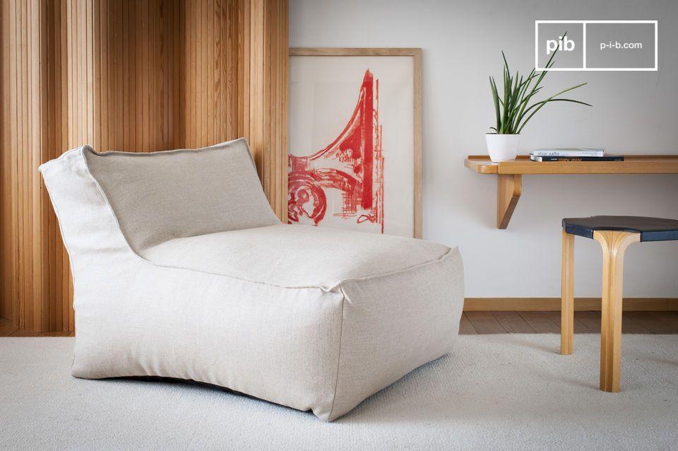 Dieser elegante Wärmestuhl mit italienischem Touch wird Ihre Vision von gelegentlichen Stühlen