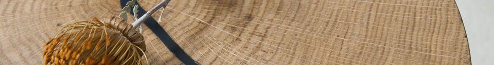 Materialbeschreibung Xyleme Beistelltisch