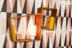 Ein Paar Wandfächer Stockholm